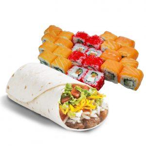Комбо #9 буррито + сет